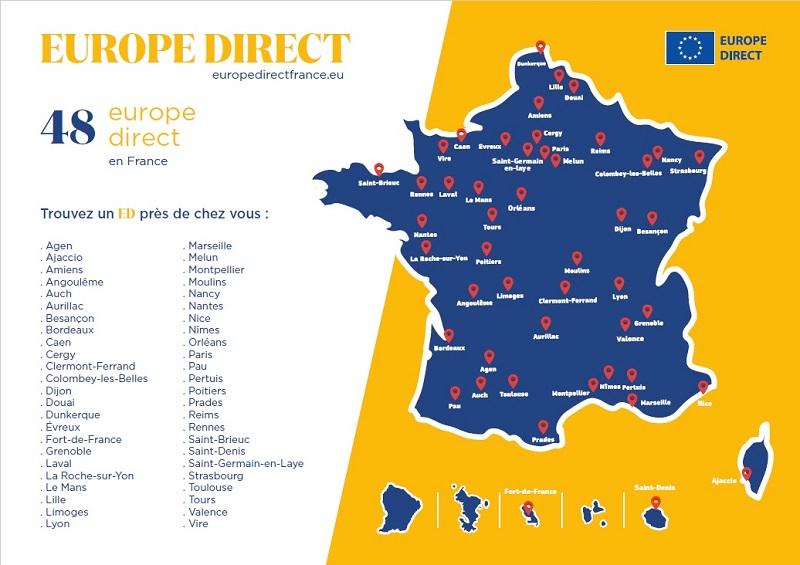europe direct carte 2021
